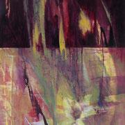 Mary's Ecstasy, 2012, oil and acrylic on canvas, 150 x 100 cm