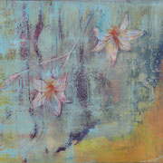 Dawn and Dusk, 2012, oil and acrylic on canvas40 x 50 cm