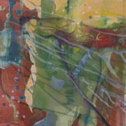 Fleeting shadows 1, 2012, oil and acrylic on canvas, 30 x 30 cm