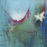 Spring Essence,2012, oil and acrylic on canvas, 40 x 50 cm