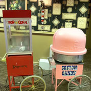 POP CORN  / COTTON CANDY