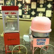 POP CORN  / COTTON CANDY