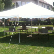 20X20 CANOPY TENT (40-60 PERSONS)