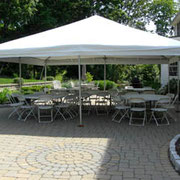 20X20 FRAME TENT (40-60 PERSONS)