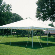 20X20CANOPY TENT (40-60 PERSONS) GRASS ONLY