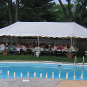 20X40CANOPY TENT (80-100 PERSONS) GRASS ONLY