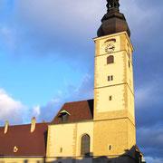St. Pöltner Dom mit romanischem Turm  77m hoch