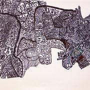 信谷 弘光  Hiromitsu Nobutani          サインペン・画用紙  pen on paper