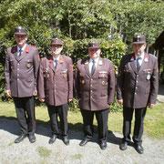 Robert Stangelmayer, Franz Setzer jun., Reinhard Scheichenberger, Gerhard Stiepani