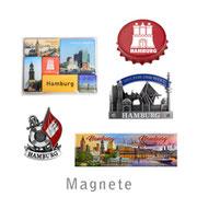 Hamburg Magnete Souvenirs