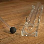 Kristallszepter mit Schlägel