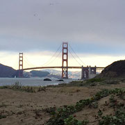 The Golden Gate Bridge...next time, I'm running the length of it.