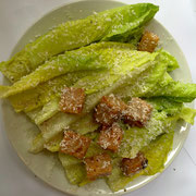 The Zuni Cafe Caesar Salad.  The romaine lettuce was so sweet and crunchy.