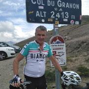 Col du Granon (2413 m). Au départ de Briançon. Col difficile.