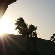 Aufnahme aus einem Timelaps der den Sonnenuntergang einfängt. Den fertigen Clip gibt es später zu sehen