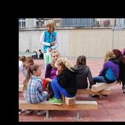 Balancierbalken / Sitzmöglichkeiten