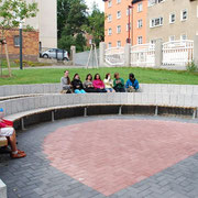 Pausenhof /grünes Klassenzimmer