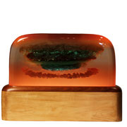Cheshire    poly resin and wood( backside)