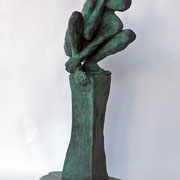 Absence of Humanity,   Bronze     Belgen Yucelen    $1300