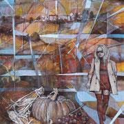 """Autunno"", olio su tavola, cm. 40 x 60  - € 1600,00"