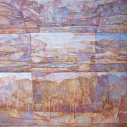 """""""Paesaggio interiore 2"""", olio su tela, cm. 50 x 60 - Germania, collezione privata"""