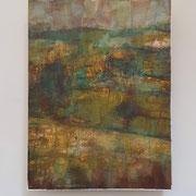 """Italian landscape"", tecnica mista su carta Hahnemühle 600 g/mq, cm. 30 x 40 - € 500"