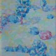 """Piccolo giardino"" - olio su tela cm. 40 x 30 – € 100,00"