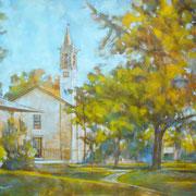 """""""Al Parco Comi"""" - olio su tela cm. 40 x 50 – Cernusco sul Naviglio, collezione privata"""