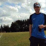 Unser verletzter Capitano Boris Hetzel
