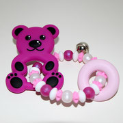 Silikongreifling Bär rosa  25.50  GB-001