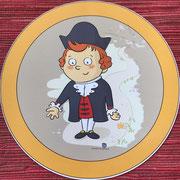 Wisst Ihr schon wer ich bin? Na klar, ich bin das Lüderbacher Maskottchen vom Familienpfad Point India, der kleine Adam von Capellan.