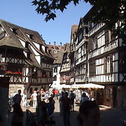 on a icecream trip to Strasbourg...