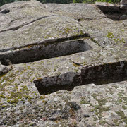 merovingian tombs on a neolithic sacred site for inner visions?