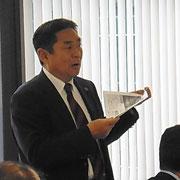 安部六大学活性化委員会リーダー