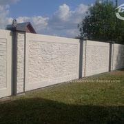 Заборы Бетонные Декоративные http://www.concrete-fences.com/ М.О. пос. Бужаниново.