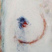 """""""La Vie""""  - Huile, pigments et pastels sur papier - 50x70 cm cm- 2014"""