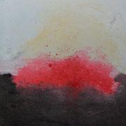 """""""Soudain"""" - Huile, pigments sur toile - 30x45 cm- 2016"""