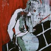 """"""" Enceinte """" - Acrylique sur toile - 2006"""