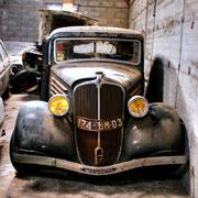 "Car Cemetery ""Peugeot 203"""