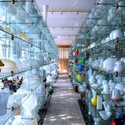 "Glass Factory ""Orange Swan"""