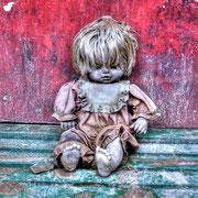 Factory of creepy dolls