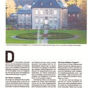 Schloss saniert, Sanierungsplanung zur Denkmalpflege