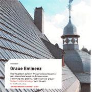Dachsanierung im Denkmalschutz