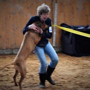 """Zahabu Ewanisha Z'Alegria - Vorzüglich 1. Platz und """"Zweitbester Junghund"""""""