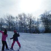 さぁ練習するぞ!先生(ボク)の言うことは絶対だ!学校のスキー教室に向けて!