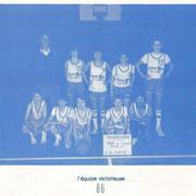 Champion 1986: CO Pacé (France)
