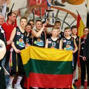 Championne 2016 ! Vilnius (Lituanie)