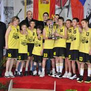 Champion 2011: SOKOL Pisek Prague (Rép. Tchèque)