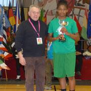 Meilleure Espoir 2015 : Kaina Norbert (Orly)