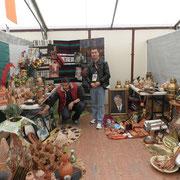 Le stand d'artisanat algérien